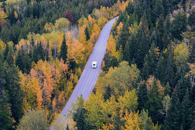 Banff-Jasper-fall