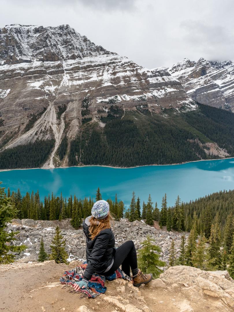 Banff-Jasper-peyto-lake